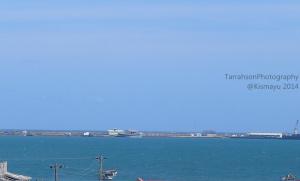 The seaport of Kismayu